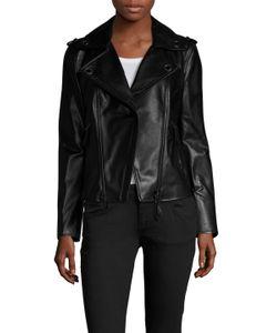 Lanvin | Leather Motorcycle Jacket