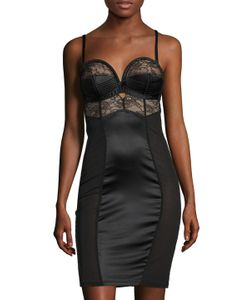 Dita Von Teese | Embroidered Mesh Chemise