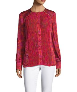 Prabal Gurung | Pleated Panel Blouse