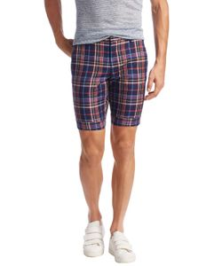 Paul Smith | Cotton Checkered Modern Fit Shorts