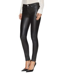 Saint Laurent | Leather Skinny Trousers