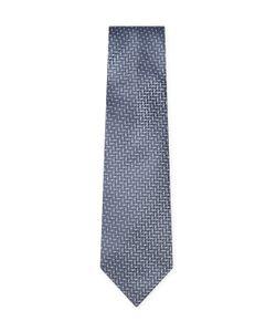 Armani Collezioni | Embroide Striped Silk Tie