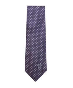 Versace | Dotted Silk Tie