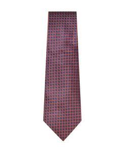 Armani Collezioni | Geometric Jacquard Silk Tie