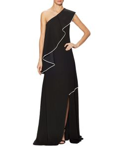 Vionnet | Jersey Flutter One Shoulder Gown