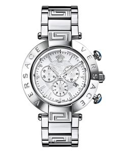 Versace | Reve Stainless Steel Watch 46mm
