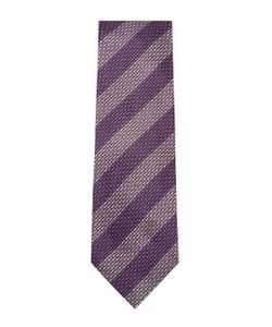 Tom Ford | Embroidered Striped Silk Tie