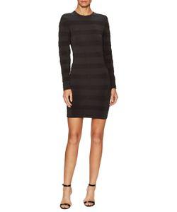 Balmain   Textu Stripe Sheath Dress