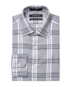 Saks Fifth Avenue | Plaid Classic Fit Dress Shirt