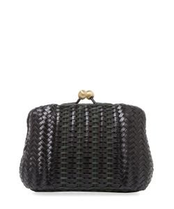 Serpui | Blair Woven Leather Clutch