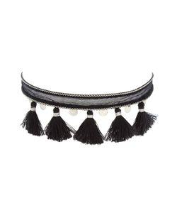 Chanluu | Chiffon Tassel Coin Choker Necklace