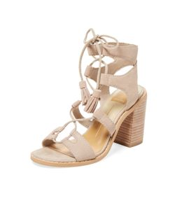 Dolce Vita | Leary Lace-Up Leather Sandal