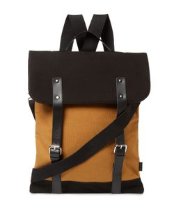 Enter | Canvas Messenger Tote Bag