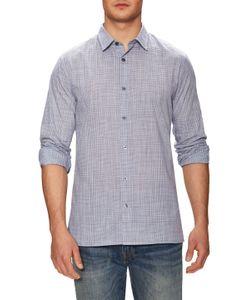 Vince | Plain Weave Melrose Square Hem Sportshirt