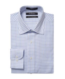Saks Fifth Avenue | Embroidered Slim Fit Dress Shirt