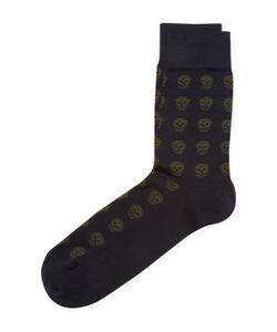 Alexander McQueen | Skull Intarsia Socks