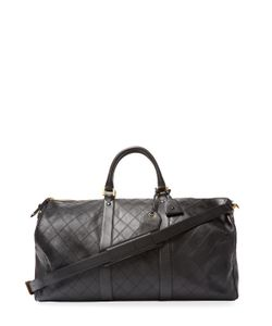 Chanel | Vintage Quilted Calfskin Boston Large