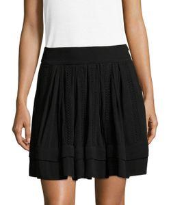 Iro | Ginny Eyelet Short Skirt