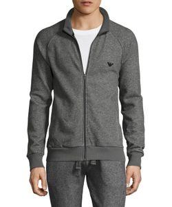 Emporio Armani | French Terry Athletics Zip Up Pajama Top