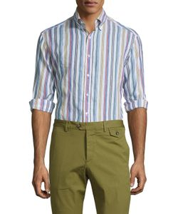 Michael Bastian | Cotton Button-Down Sportshirt