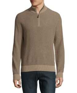 Brooks Brothers | Cotton Pique Chinchilla Sweater