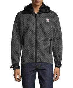 Moncler Grenoble | Quilted Wrist Strap Hoodie