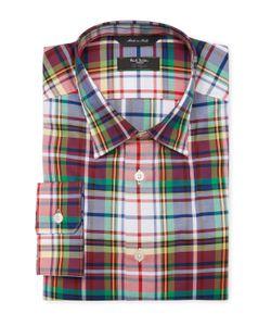 Paul Smith | Plaid Tailo Dress Shirt