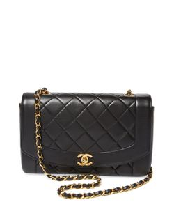 Chanel   Vintage Lambskin Border Flap Medium
