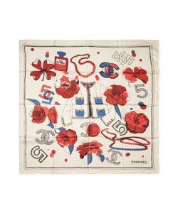 Chanel | Vintage No. 5 Accessories Silk Scarf 34 X 34