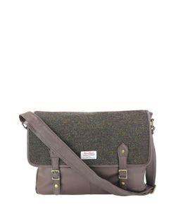 British Belt Company | Racing Harris Tweed And Leather Messenger Bag