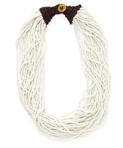Kenneth Jay Lane | Resin Beaded Station Necklace