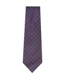 Armani Collezioni | Embroide Geometric Silk Tie