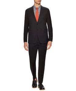 Armani Collezioni | Wool Solid Notch Lapel Suit