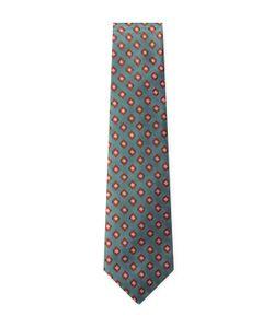 Canali   Silk Diamond Embroide Tie