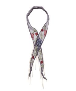Chanluu | Embroidered Necktie