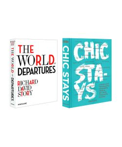 Assouline | The World Of Departures Chic Stays Set Set Of 2