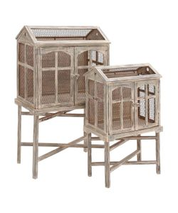 Uma | 2-Door Bird Cages Set Of 2