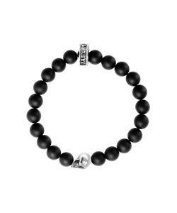 King Baby | Onyx Skull Stretch Bracelet