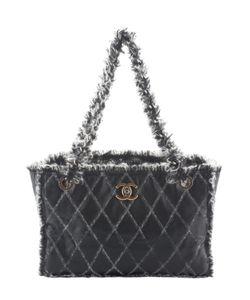 Chanel | Vintage Quilted Lambskin Tweed Tote