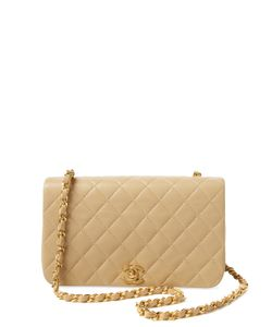 Chanel | Vintage Quilted Lambskin Full Flap Small