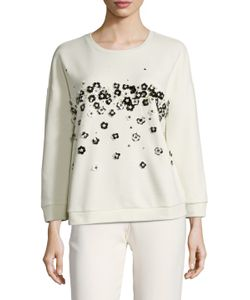 Max Mara | Amato Cotton Embellished Sweater