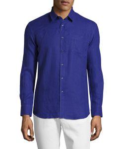 Vilebrequin | Caroubier Linen Sportshirt