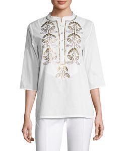Figue   Jasmine Cotton Sequin Tunic