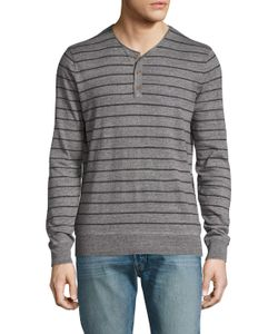 Michael Stars | Cotton Striped Henley