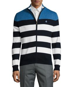 Brooks Brothers | Marl Striped Cotton Sweater