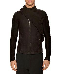 Rick Owens | Goat Leather Drape Jacket