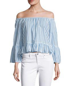 FAITHFULL   Galle Cotton Striped Blouse