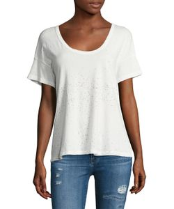 Current/Elliott | The Slouchy Scoopneck Tee
