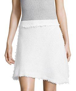 Iro | Money Cotton Boucle A-Line Skirt