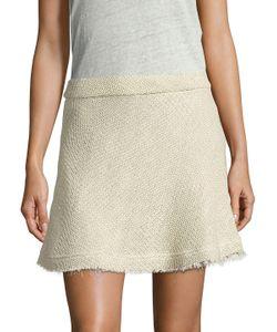 Iro | Stoney Cotton Boucle A-Line Skirt